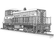Shipping Drawings - Switcher number 50 by Calvert Koerber
