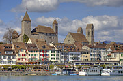 Medieval Framed Prints - Switzerland Rapperswil Framed Print by Joana Kruse