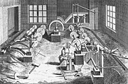 18th Century Photos - SWORD-MAKING, 18th CENTURY by Granger