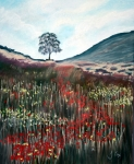 Sycamore Paintings - Sycamore Gap. by John Cox