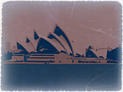 Opera House Posters - Sydney Australia Poster by Irina  March