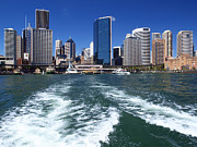 Channel Art - Sydney Circular Quay by Melanie Viola
