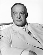 Lapels Framed Prints - Sydney Greenstreet, Ca.1940s Framed Print by Everett