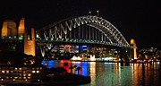 Sydney Photographs Framed Prints - Sydney Harbour Bridge  Framed Print by Jessica Estrada