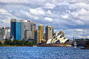 Sydney Harbour One Print by Rick Bragan