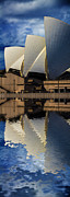 Sydney Opera House Abstract Print by Sheila Smart