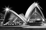 Joannes Framed Prints - Sydney Opera House at night Framed Print by Thomas Joannes