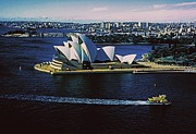 Manley Photo Prints - Sydney Opera House Print by Gary Wonning