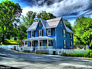 Patapsco River Photos - Sykesville House by Stephen Younts