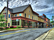 Patapsco River Photos - Sykesville Shops by Stephen Younts