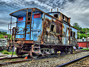 Patapsco River Photos - Sykesville Train by Stephen Younts
