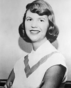 Historical Photo Posters - Sylvia Plath, Portrait Poster by Everett