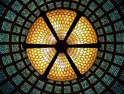 Symmetric Lights Print by Matt Cangelosi
