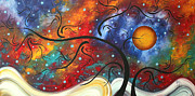 Colorful Landscape Paintings - Symphony of Color by Megan Duncanson