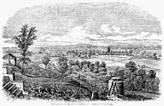 American City Prints - Syracuse, New York, 1853 Print by Granger