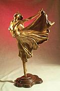 Traditional Sculpture Originals - Syrena  by Allen Mautz