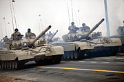 The Main Art - Syrian Tanks Participate In The Kuwaiti by Stocktrek Images