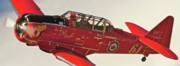 Knight Originals - T-6 Red Knight Air Races 64 and Keith McMann  by Gus McCrea