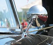 Thunderbird Photos - T-Bird Reflections by Kelly Mezzapelle