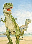 Dinosaurs Originals - T-rexes by Cliff Spohn