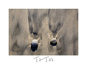 Sand Art Prints - Ta-Tas Print by Peter Tellone