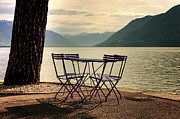 Switzerland Art - Table And Chairs by Joana Kruse