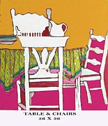 Linda Arthurs - Table And Chairs