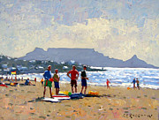 Table Mountain Cape Town Print by Roelof Rossouw