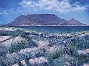 Enver Larney Art - Table Mountain Cape Town South Africa 2007  by Enver Larney
