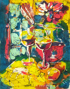 Wine Tapestries - Textiles - Table by Nadejda Lilova