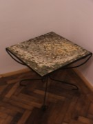 Iron  Sculptures - Table by Raluca Polea