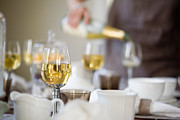 Champagne Photos - Table setting by Kati Molin