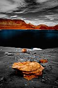 Special Effects Originals - Tabletop Boulder Lake Powell by Tom Fant