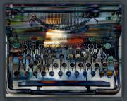 Typewriter Keys Digital Art - Tabulator by Chuck Brittenham