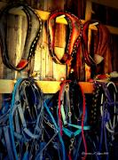 Shed Digital Art - Tack Room by Christine Zipps