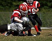 Preteen Posters - Tackle the Runner Poster by Susan Leggett