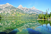Tetons Art - Taggart Reflections by Greg Norrell