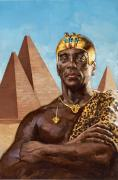 Aristocracy Photos - Taharqa Was The Greatest Of Egypts by Gregory Manchess