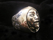 Tiare Originals - Tahitian Tiare RIng Hand engraving by Jade East  Designs