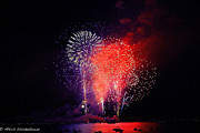 Forth Of July Photos - Tahoe Fireworks. by Mitch Shindelbower