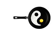 Kitchen Art Posters - Taijitu Poster by Gert Lavsen