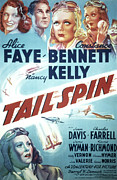 Kelly Photo Prints - Tail Spin, Alice Faye, Constance Print by Everett