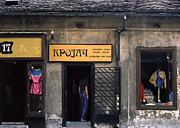 Abandoned Houses Metal Prints - Tailor shop. Belgrade. Serbia Metal Print by Juan Carlos Ferro Duque