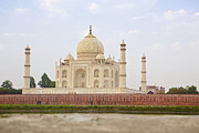 Uttar Pradesh Prints - Taj Mahal Exterior Print by Bryan Mullennix