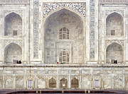 Islamic Photo Framed Prints - Taj Mahal II Framed Print by Nina Papiorek
