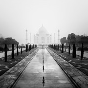 Religion Photo Metal Prints - Taj Mahal III Metal Print by Nina Papiorek
