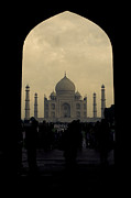 Hindi Metal Prints - Taj Mahal Metal Print by Inhar Mutiozabal