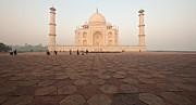 India Metal Prints - Taj Mahal Metal Print by Mike Reid