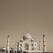 Taj Mahal Print by Mostafa Moftah