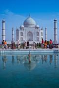 Taj Mahal  Print by Nila Newsom